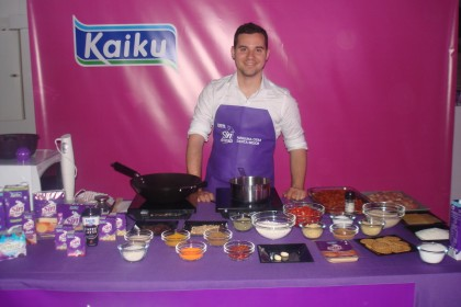 Chef Orielo Show Cooking de KAIKU en Madrid