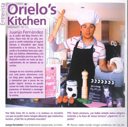 Entrevista Chef Orielo Ponvidasana revista kaiku