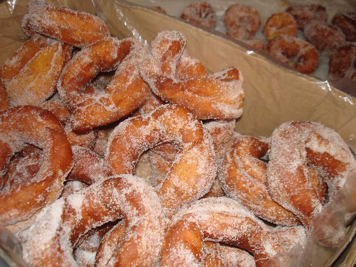 Roscos fritos de Samana Santa de la comadre Pilar