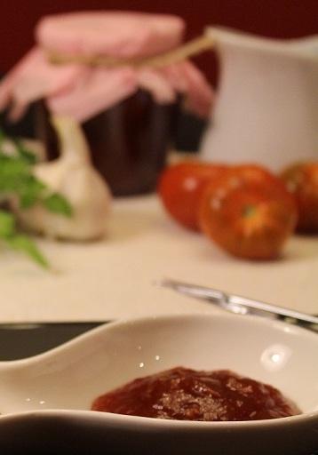 Mermelada de tomate raf casera
