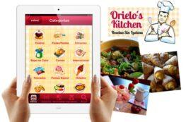 App Chef Orielo sin lactosa