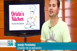 Chef Orielo en Canal Sur noticias
