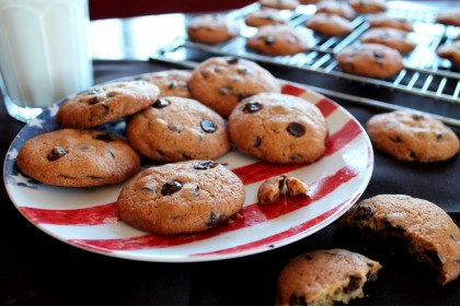Galletas Chips Ahoy sin lactosa. Cookies con trocitos de chocolate
