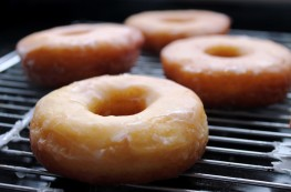 Donuts glaseados sin lactosa