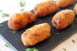 Croquetas de jamón ibérico sin lactosa