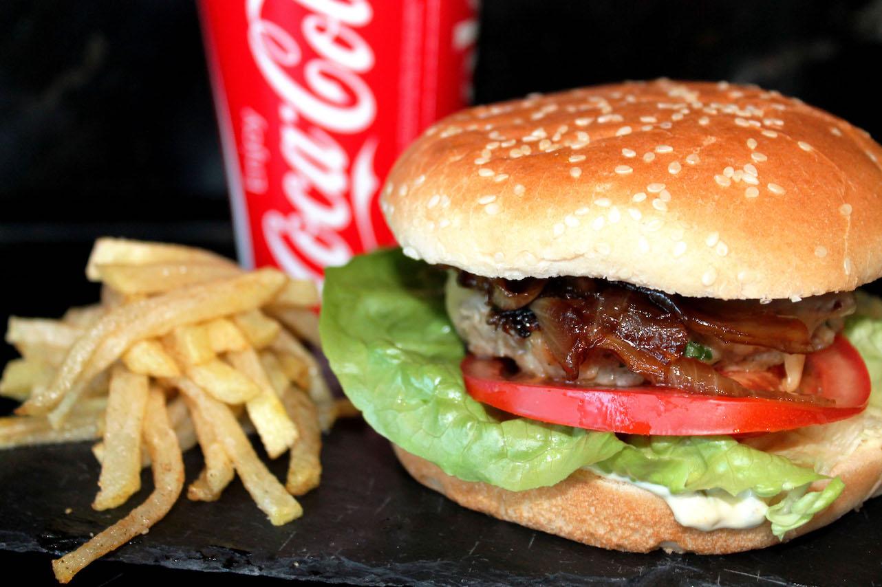 Hamburguesa de ternera sin lactosa casera Orielo' Special