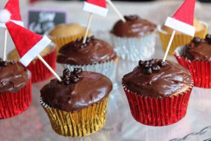 Cupcakes de nutella sin gluten y sin lactosa