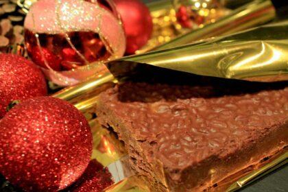 Turrón de chocolate Suchard casero