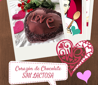 Concurso Corazón de chocolate VALOR sin lactosa