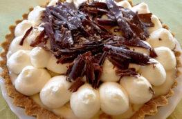 Banoffee Pie sin lactosa