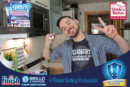 sorteo Finish Quantum lavavajillas Chef Orielo