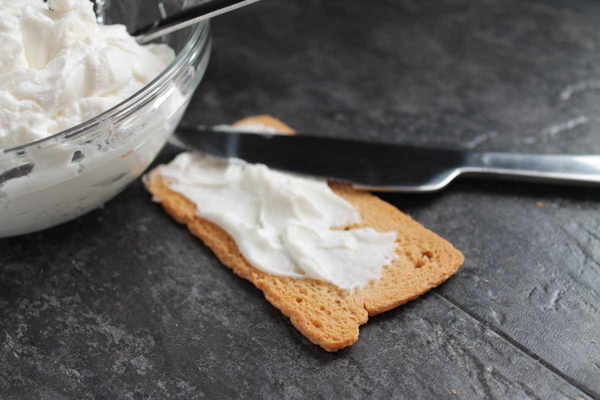 Queso crema philadelphia sin lactosa