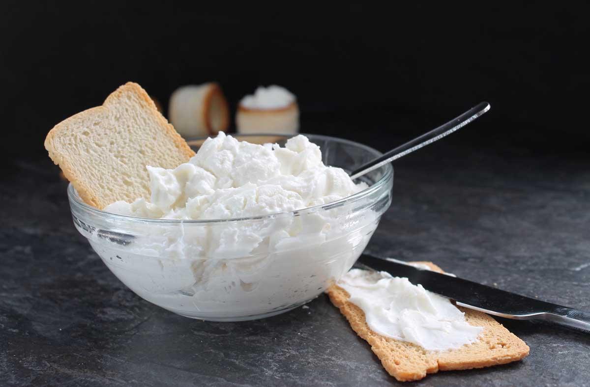Queso crema Philadelphia sin lactosa casero