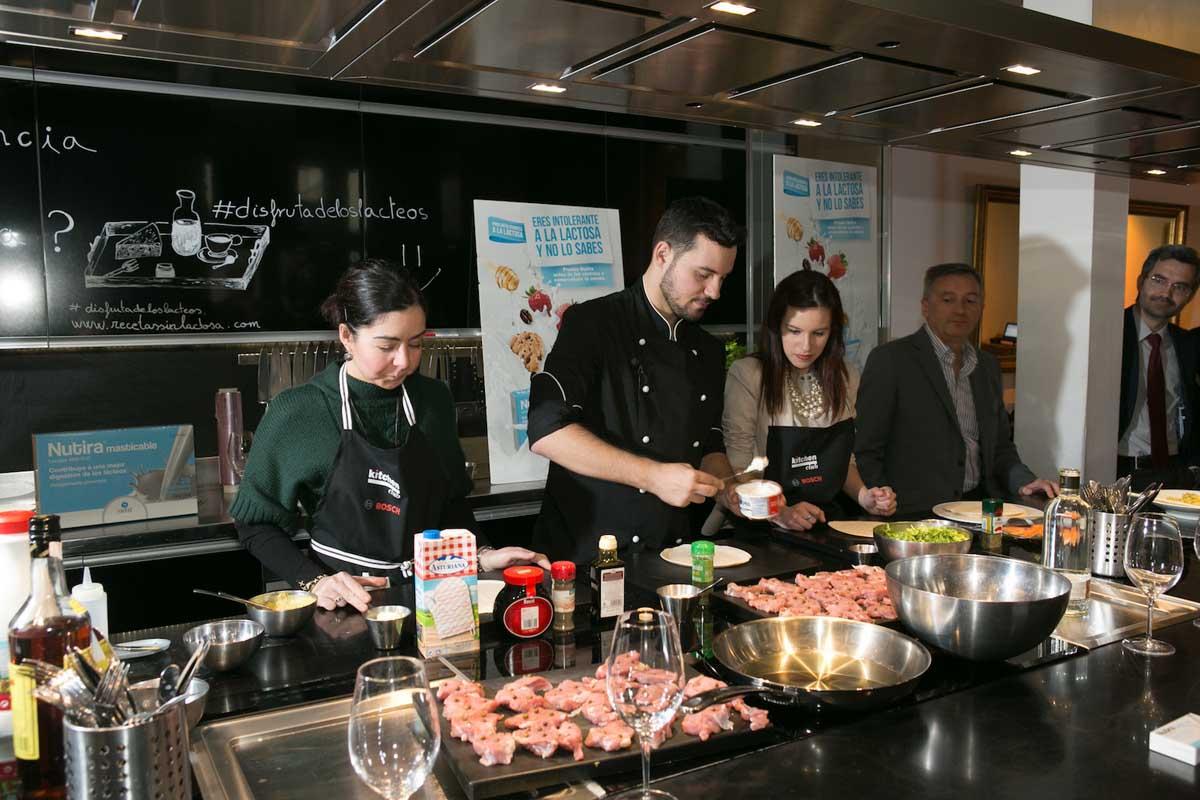 Chef Orielo show cooking Nutira
