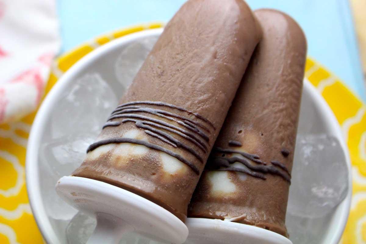 Polos de nutella sin lactosa (paleta o helado de nutella)