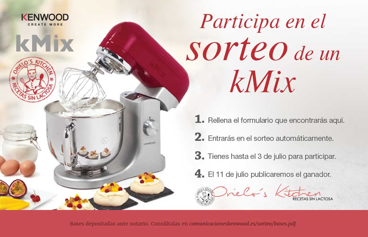sorteo robot k-mix Kenwood