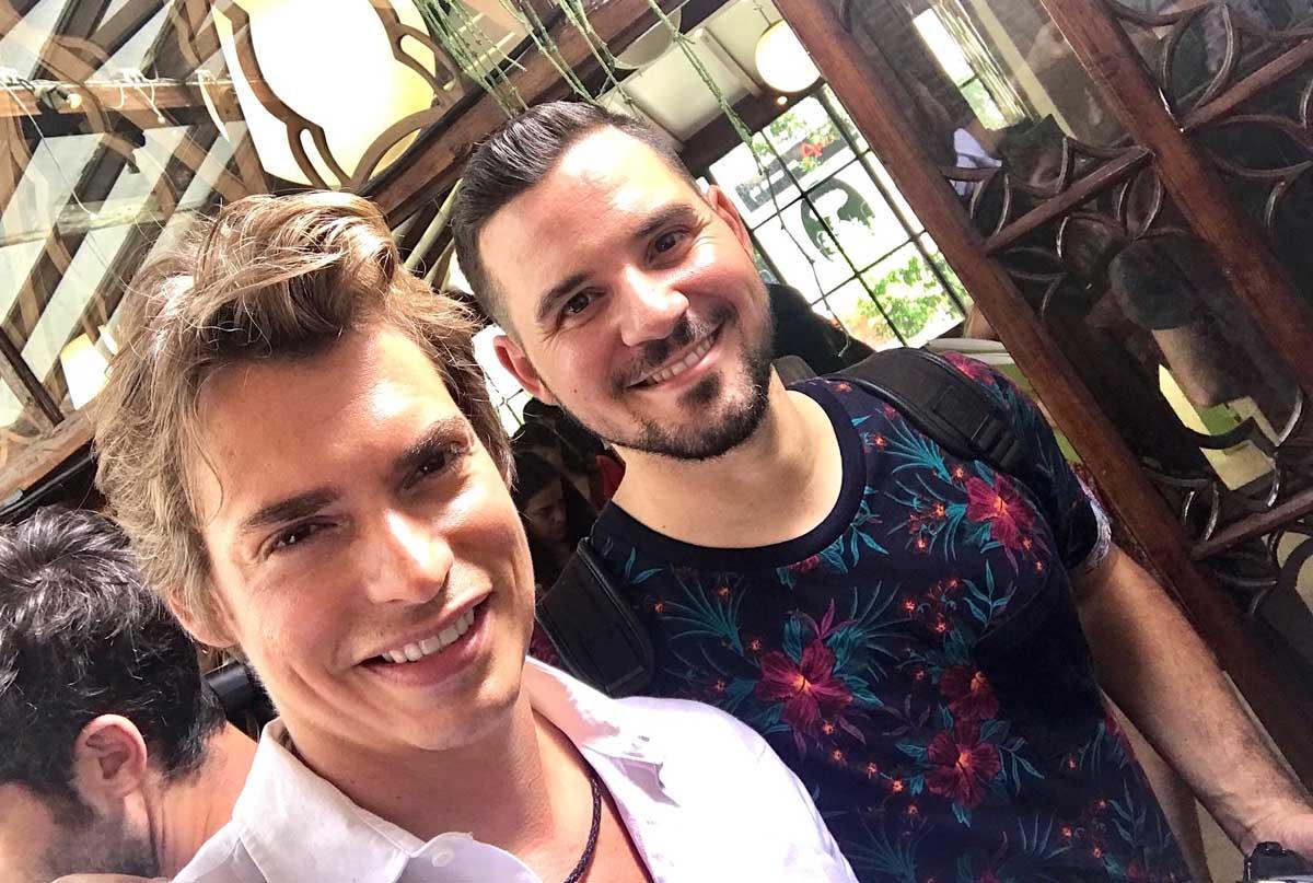 Carlos Baute y Chef Orielo