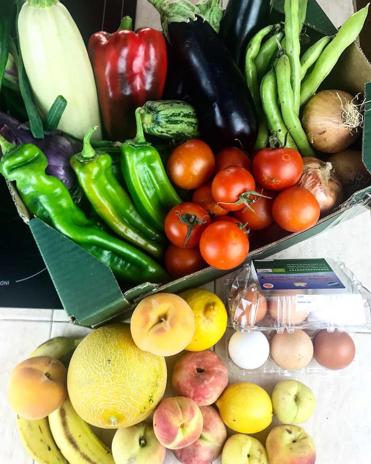 Sorteo frutas y verduras ecológicas La Simiente