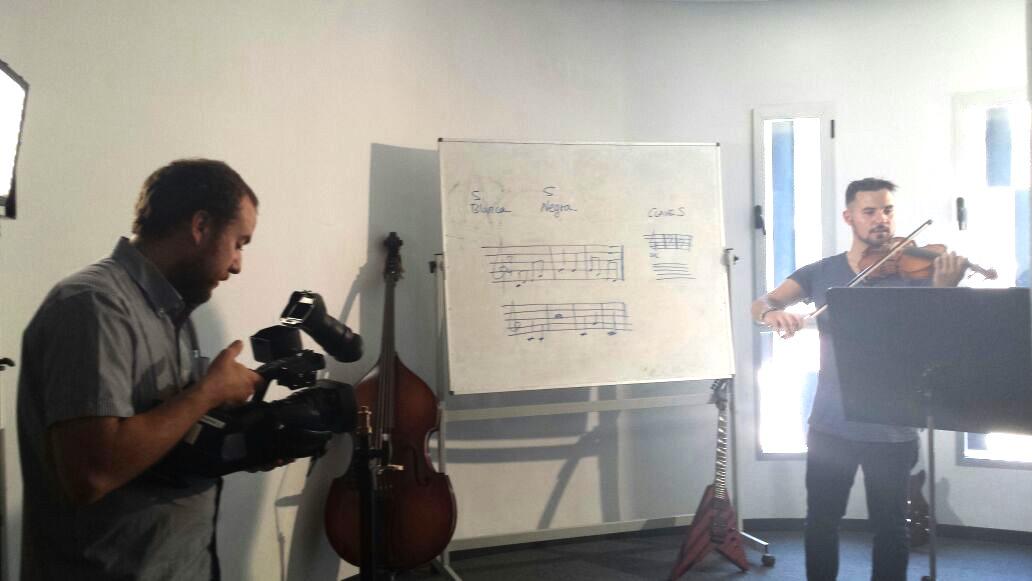 Chef Orielo clases de violín