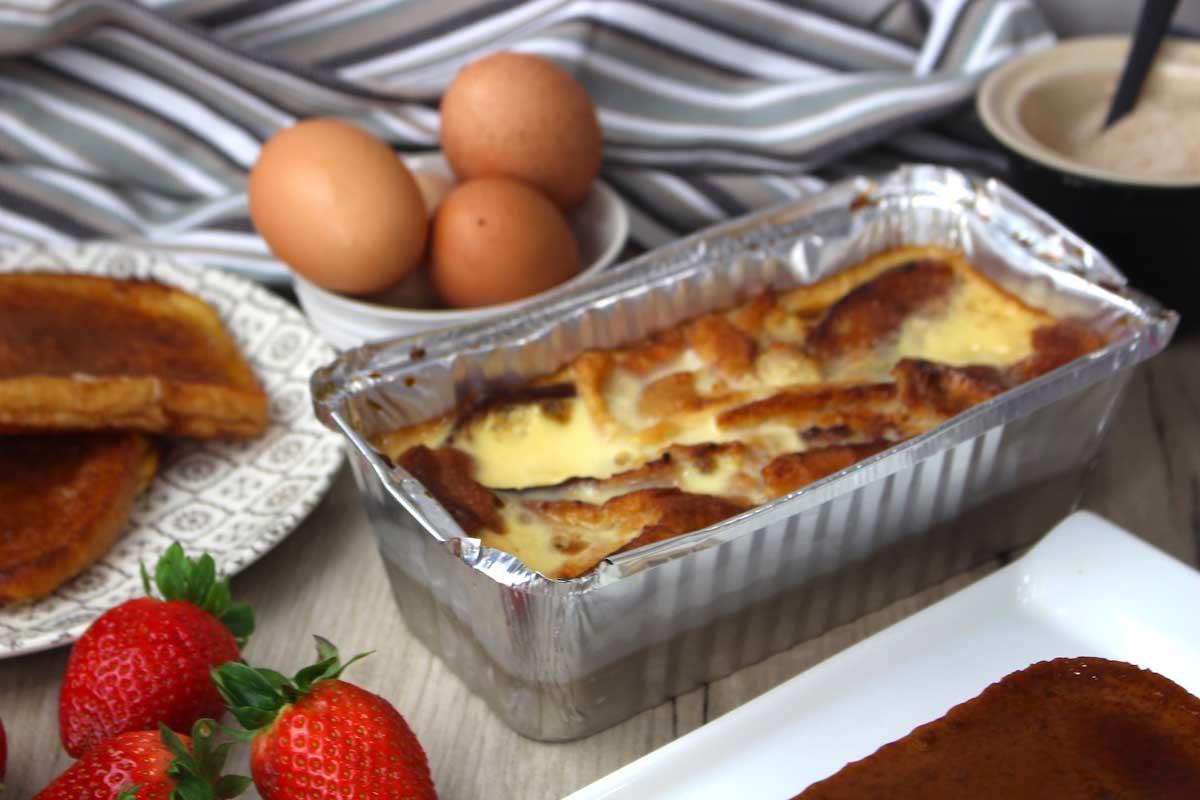 Pudin de torrijas sin lactosa molde ALBAL