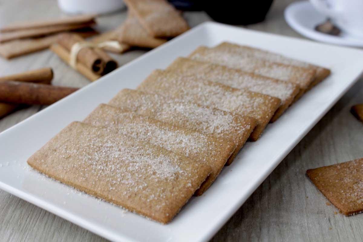 Galletas de canela Napolitanas sin lactosa