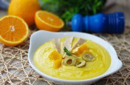 Salmorejo de naranja o porra de naranja sin tomate