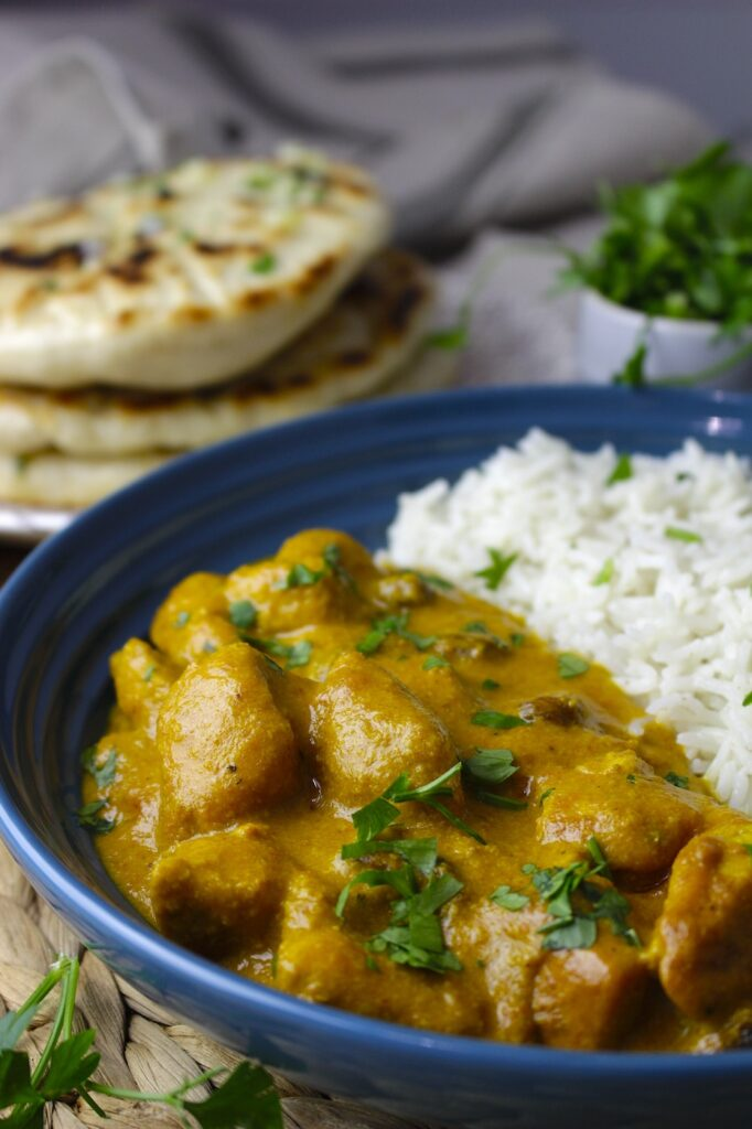 Pollo indio al curry Tikka Masala