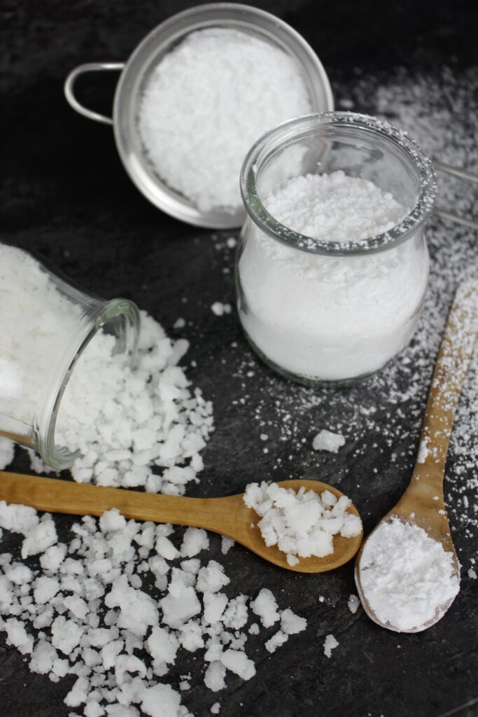 Azúcar glass y azúcar perlado casero
